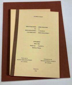 De la fin des années 1940 au milieu des années 1970, la Sbc a publié nombre de bibliographies, de facsimilés des premiers documents canadiens imprimés et publiés, de même que d'études exhaustives de la culture du livre au Canada.